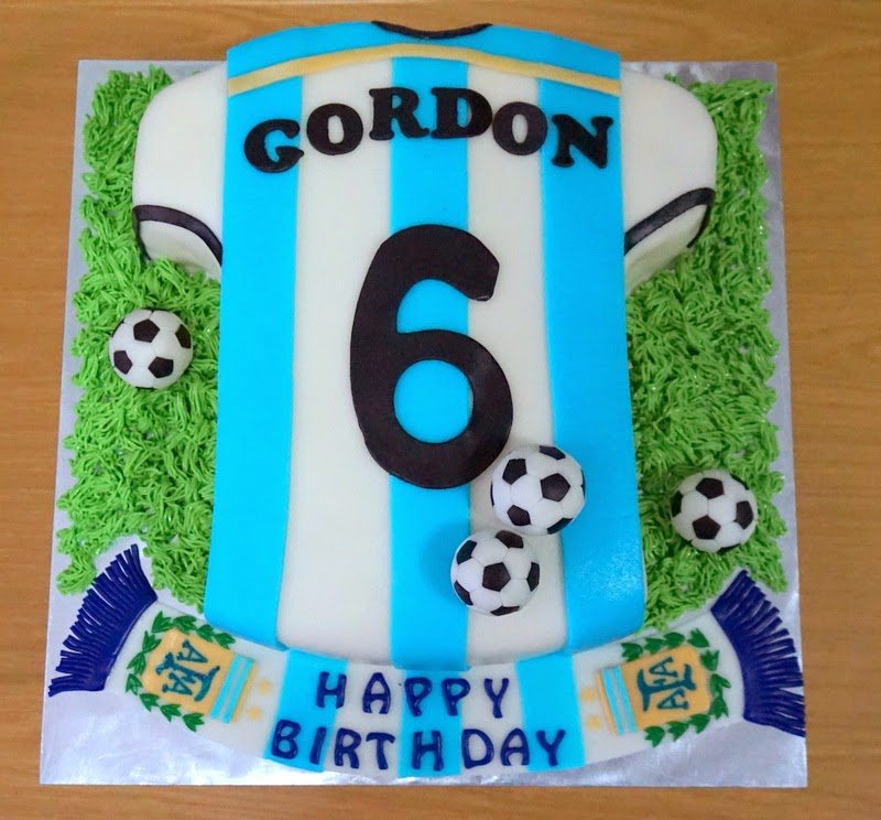 Argentina Jersey Cake