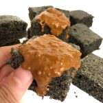 Black Sesame Cake Brownie