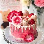 Fresh Lychee Rose Cake