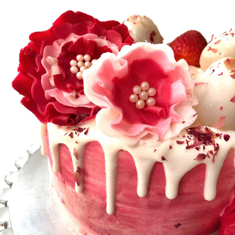 Lychee Rose Cake