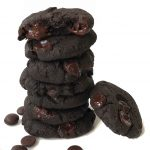 Double Chocolate Eggless cookies