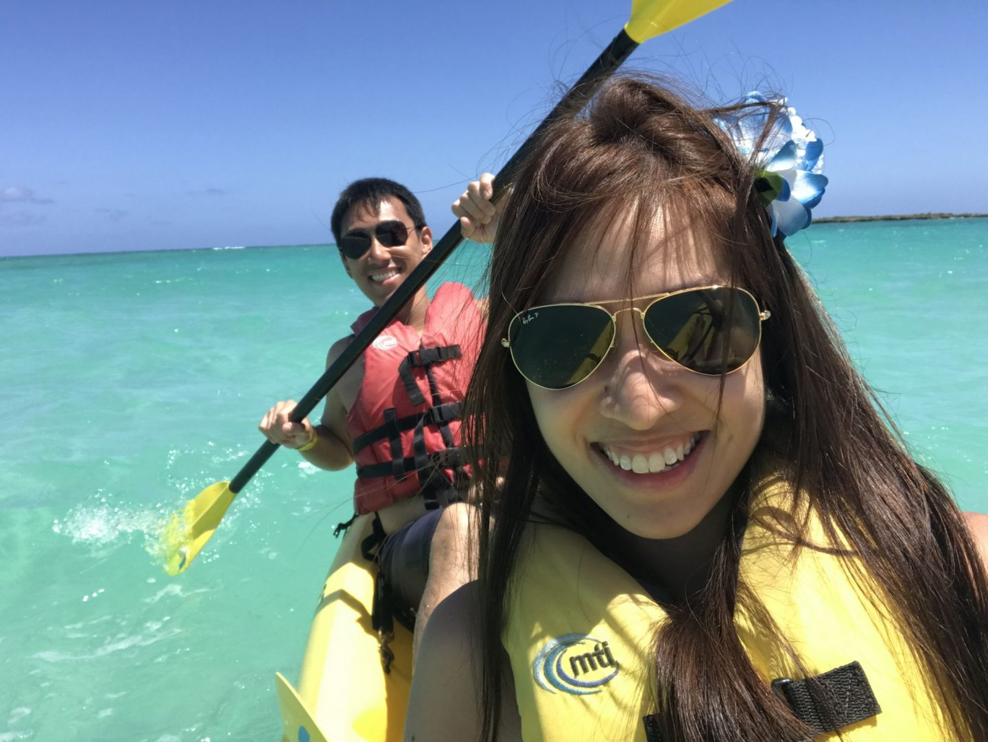 Kayaking in Kailua Bay