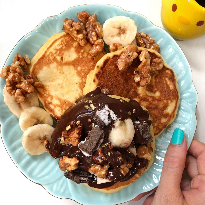 Fluffy Souffle pancakes