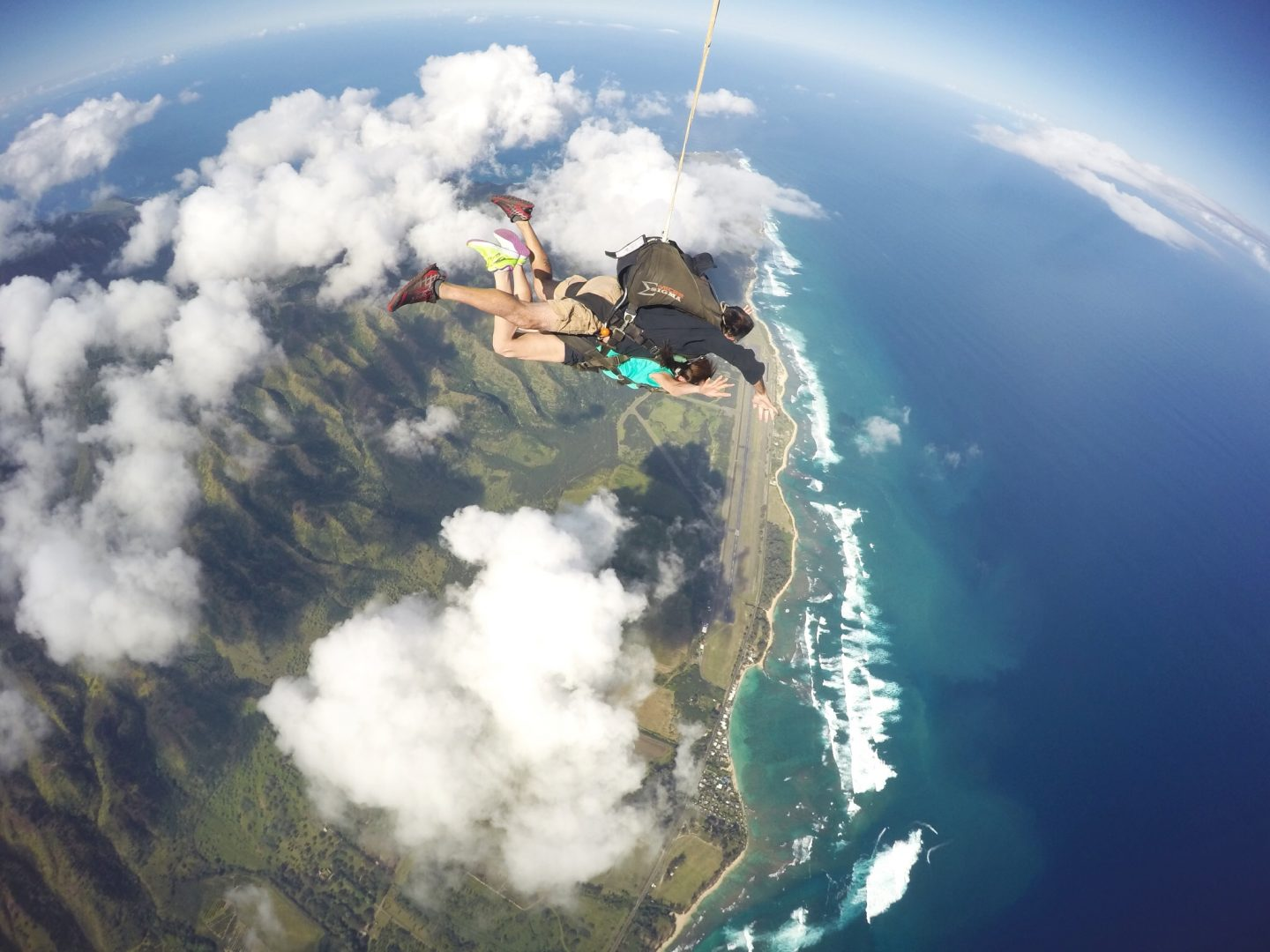 Skydiving with Skydive Hawaii