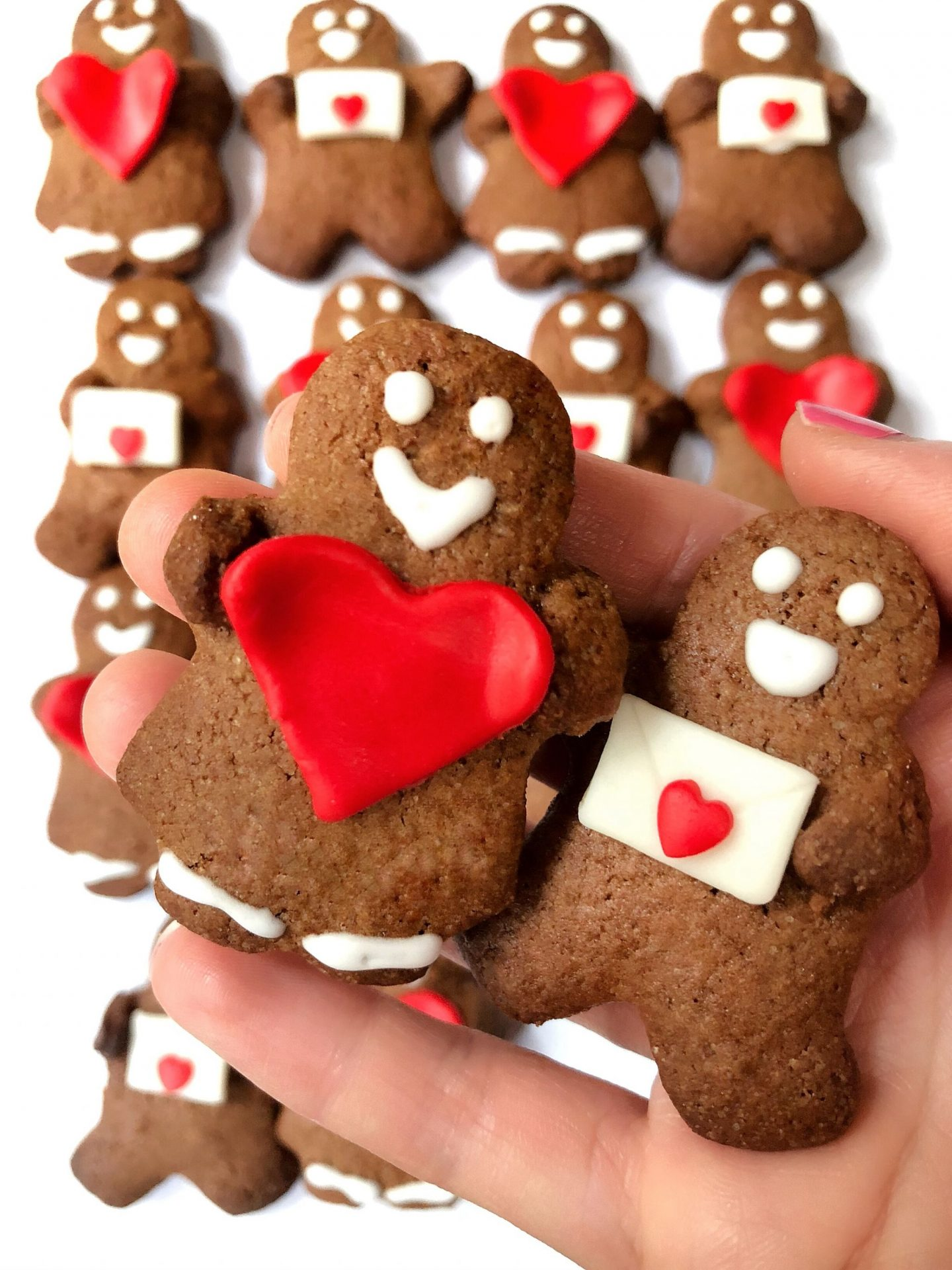 Gingerbread Couple Cookies