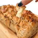 Cheesey Pull Apart bread