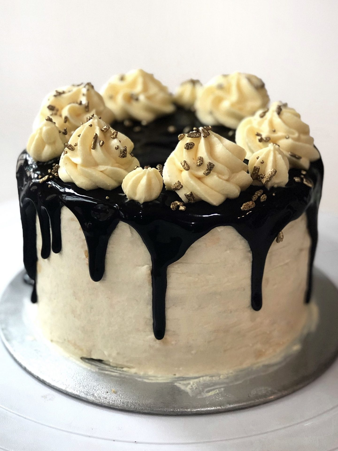 Chocolate Durian Cake