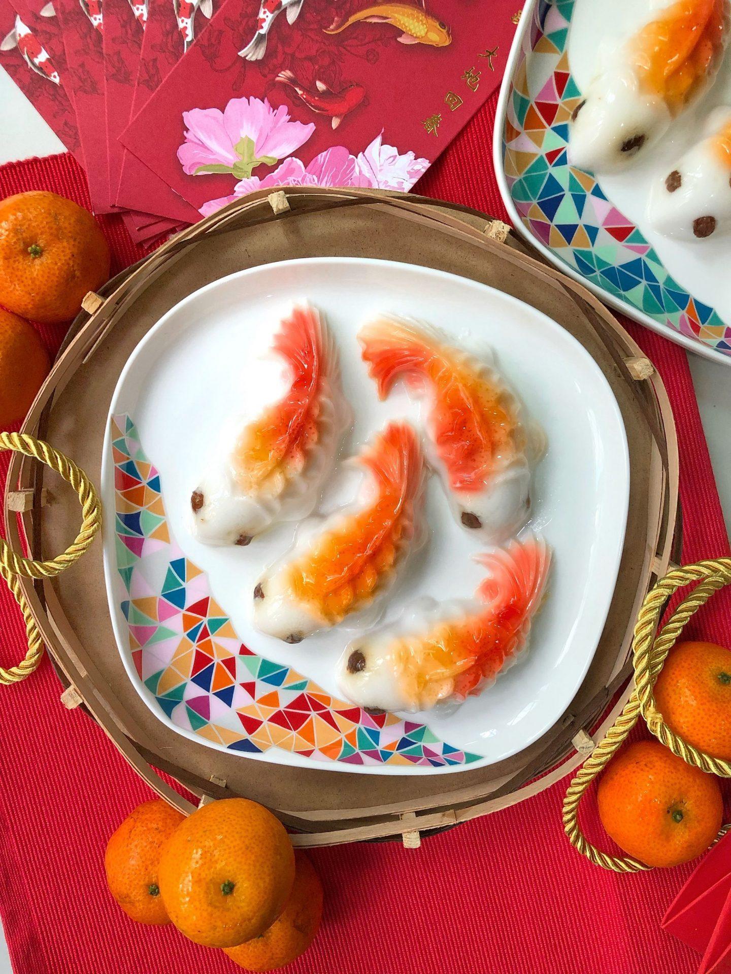 Koi Coconut Fish Jelly