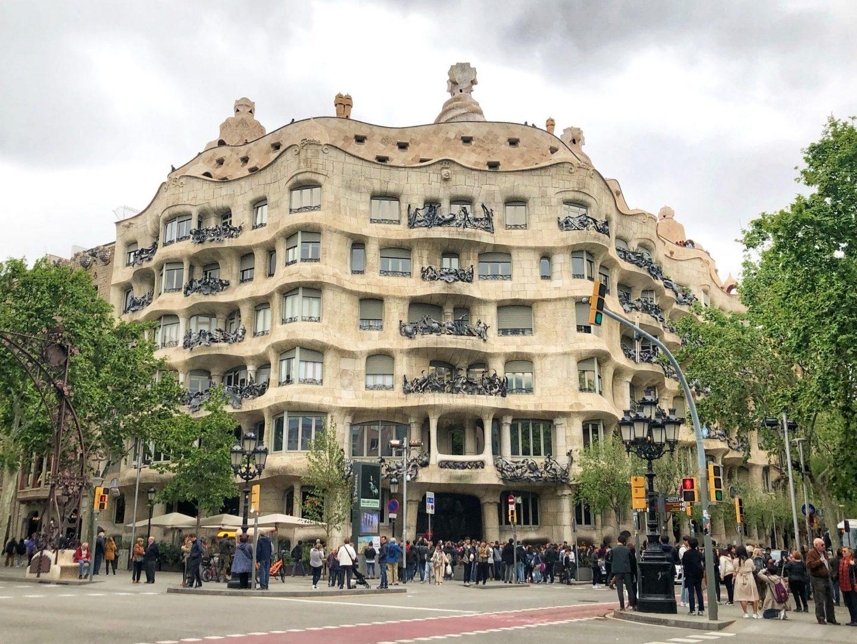 itinerary foir Casa Milà
