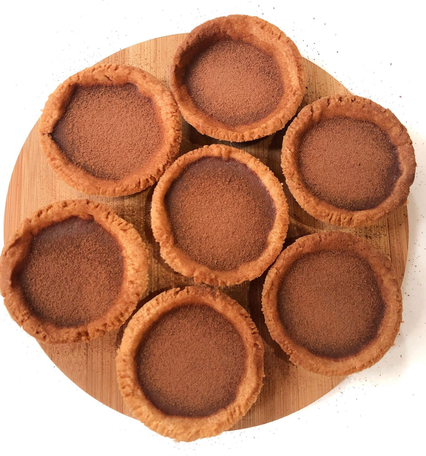 Milo Chocolate Tarts