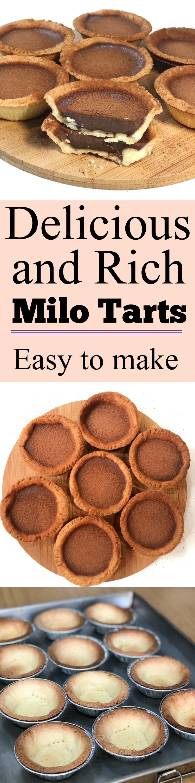 Milo tarts