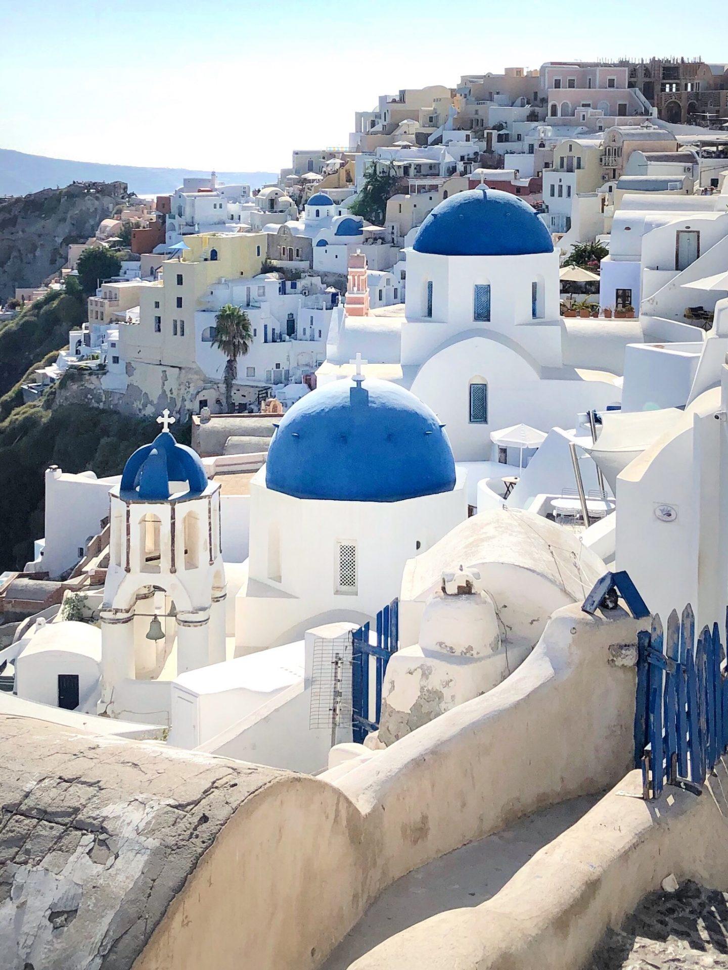 4 days Santorini and Athens Greece Itinerary