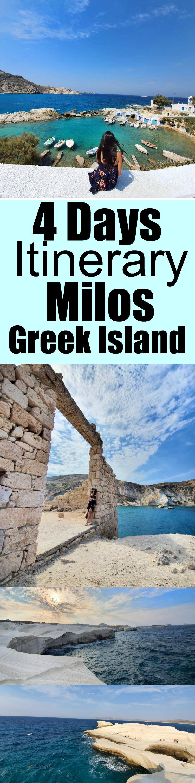 Milos itinerary