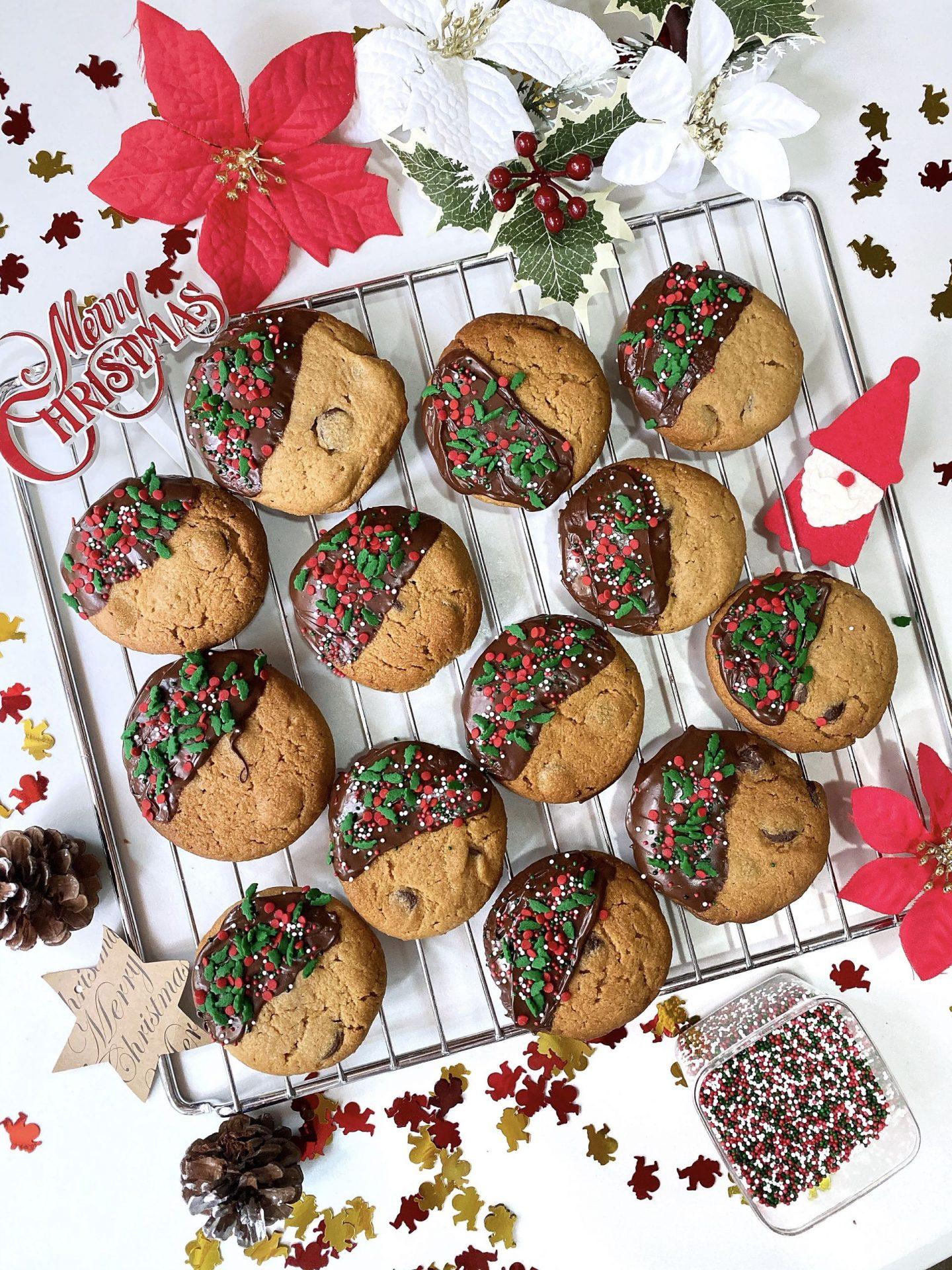 Christmas-Chocolate-Cookies